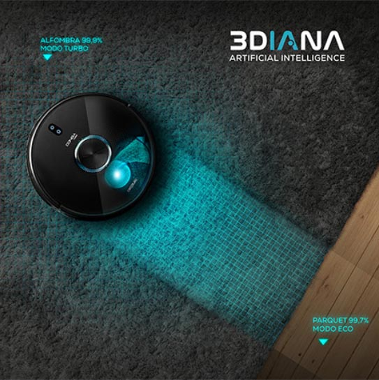 Conga 7090 IA: Carpet Detect